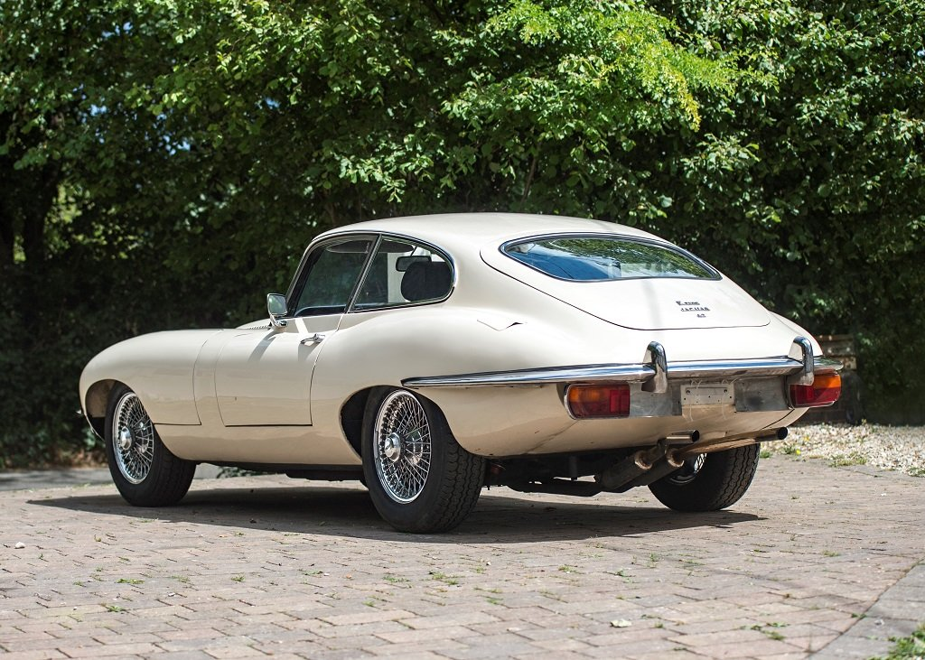 1969 Jaguar E-Type Series II Coup SOLD by Auction (picture 1 of 6)