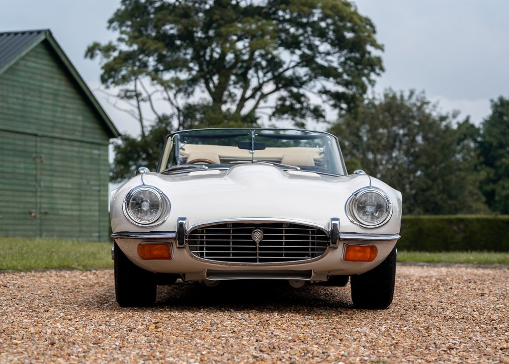 1972 Jaguar E-Type Series III Roadster SOLD by Auction (picture 1 of 6)