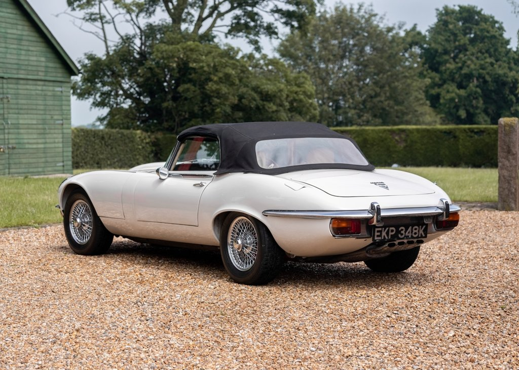 1972 Jaguar E-Type Series III Roadster SOLD by Auction (picture 2 of 6)