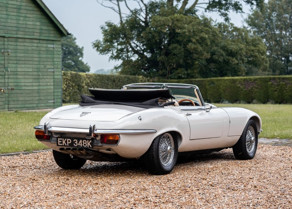 1972 Jaguar E-Type Series III Roadster SOLD by Auction (picture 4 of 6)
