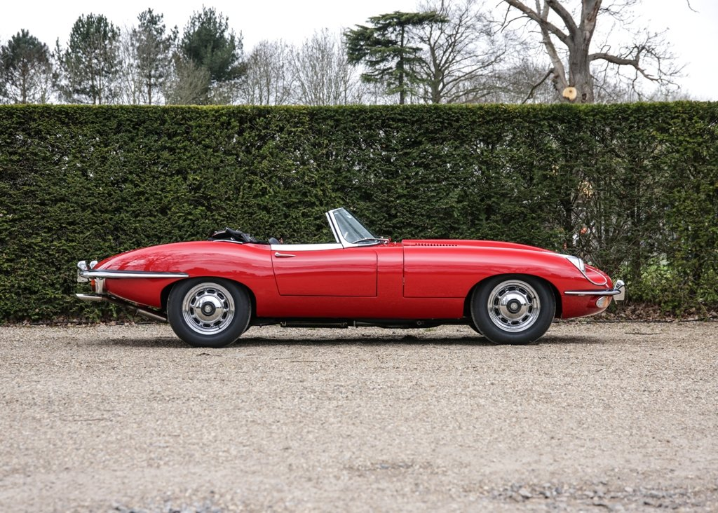 1970 Jaguar E-Type Series II Roadster SOLD by Auction (picture 1 of 6)