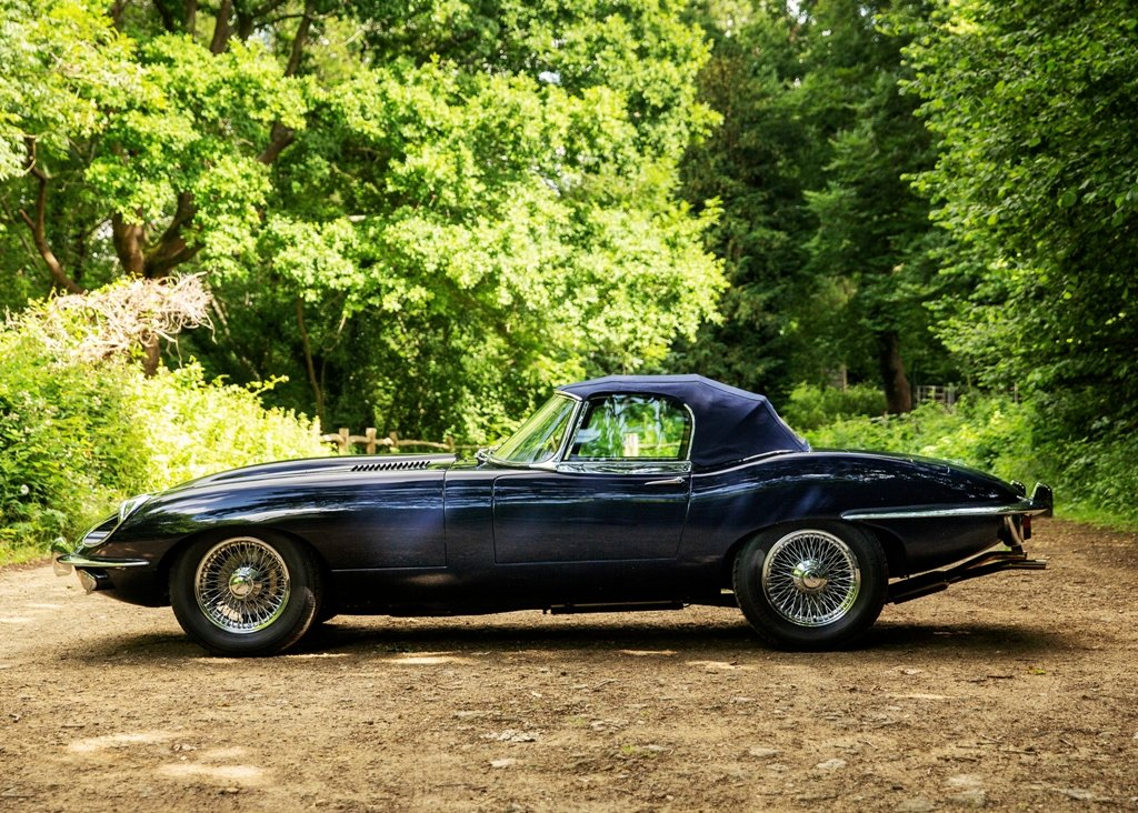 1970 Jaguar E-Type Series II Roadster SOLD by Auction (picture 2 of 6)