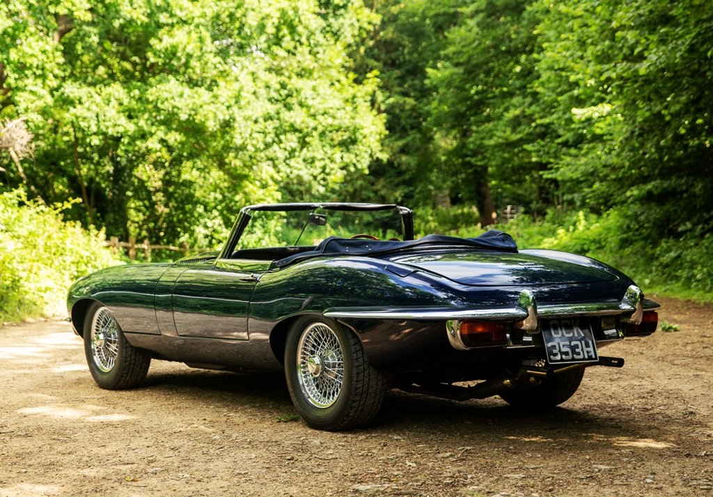1970 Jaguar E-Type Series II Roadster SOLD by Auction (picture 3 of 6)