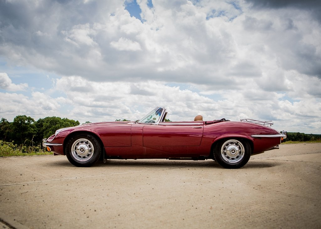 1974 Jaguar E-Type Series III Roadster SOLD by Auction (picture 1 of 6)