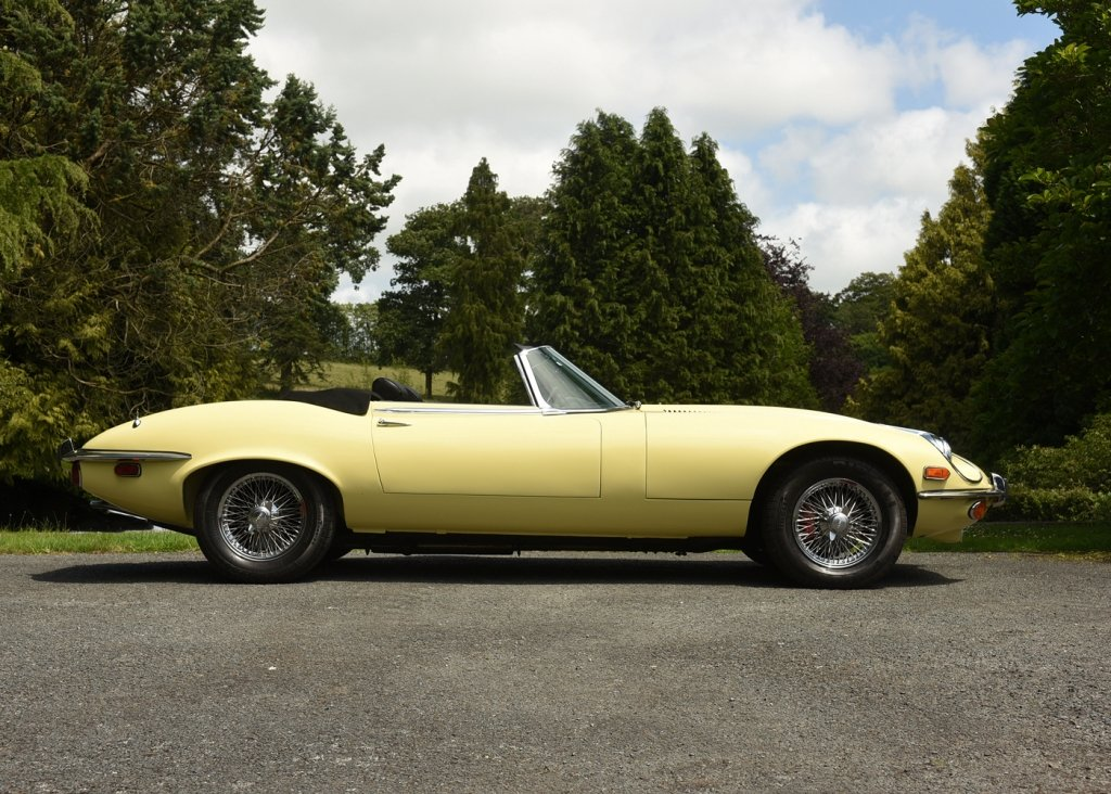 1973 Jaguar E-Type Series III For Sale by Auction (picture 1 of 6)