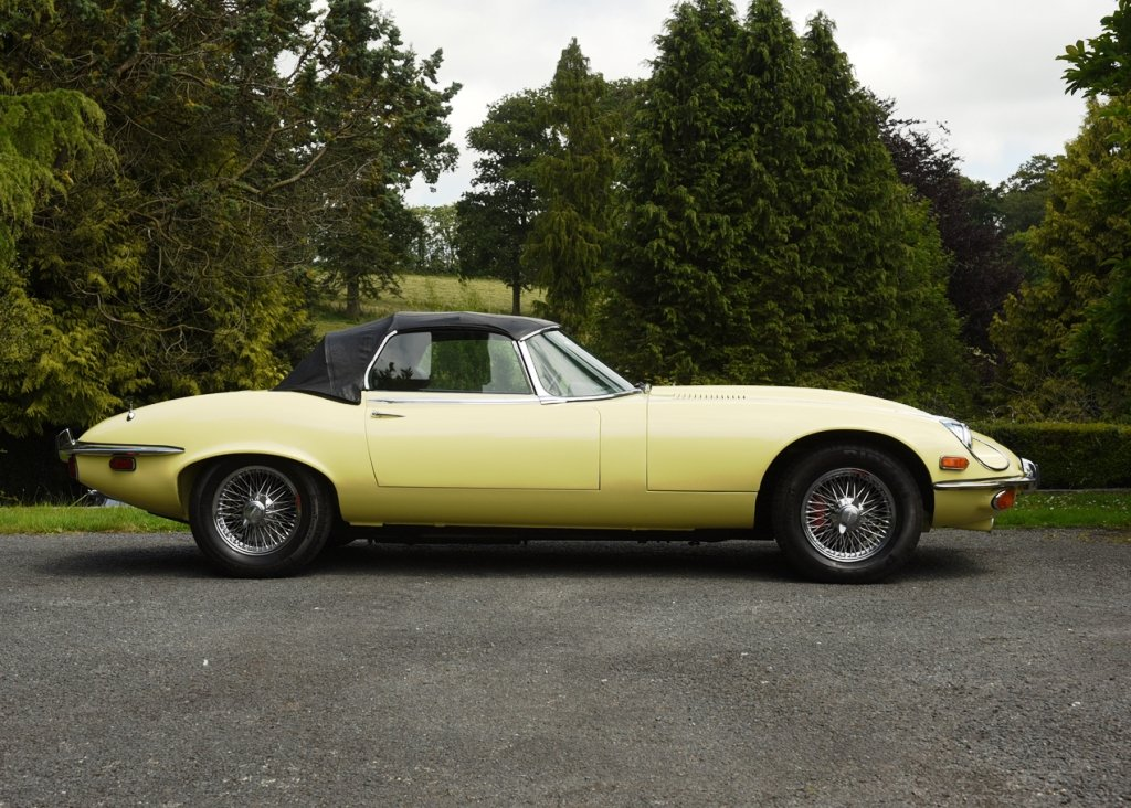1973 Jaguar E-Type Series III For Sale by Auction (picture 3 of 6)