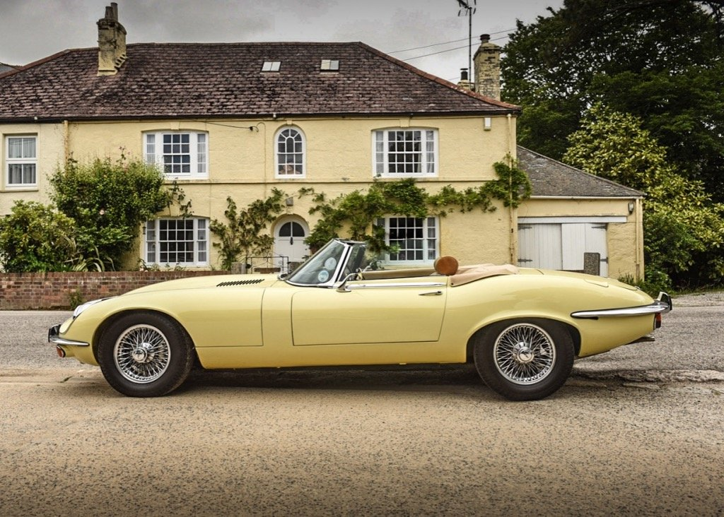 1974 Jaguar E-Type Series III Roadster SOLD by Auction (picture 2 of 6)