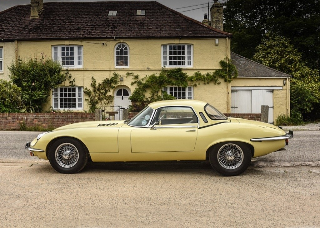 1974 Jaguar E-Type Series III Roadster SOLD by Auction (picture 5 of 6)