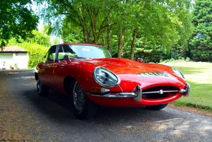 1962 E Type Series 1 FHC RHD Matching Numbers