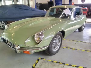 1972 E TYPE JAGUAR V12 SOLD by Auction