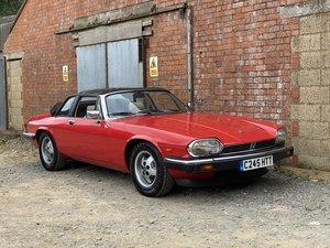 1986 Jaguar XJSC V12 HE Cabriolet Only 54000 Miles