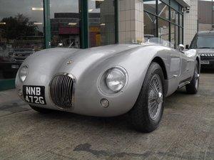 2916 Jaguar C Type Realm Engineering Recreation 4.2 Triple Webber