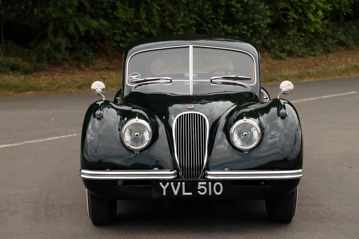 Jaguar XK120 Fixed-Head Coupé. LHD, 1952.  For Sale (picture 2 of 6)