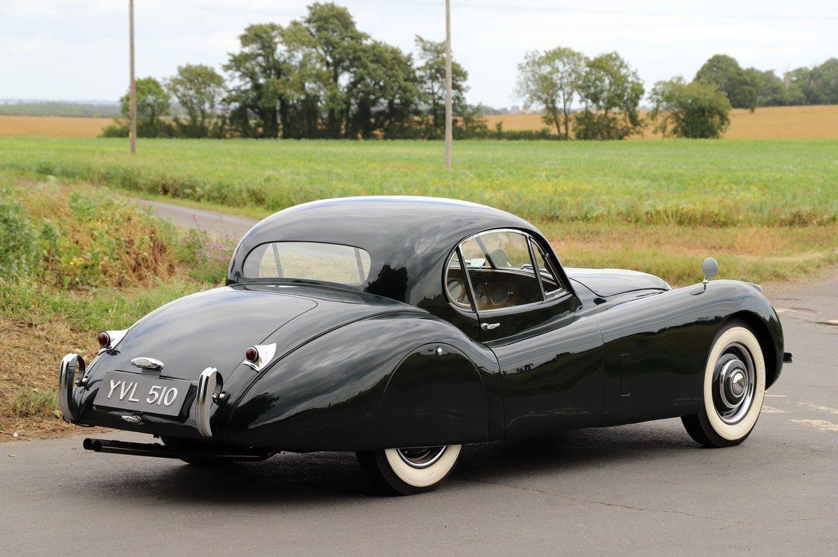 Jaguar XK120 Fixed-Head Coupé. LHD, 1952.  For Sale (picture 3 of 6)