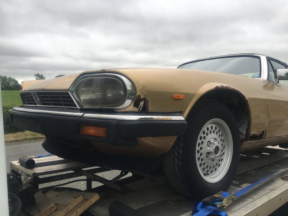 1987 Jaguar xjs-c  convertible barn find For Sale (picture 3 of 6)