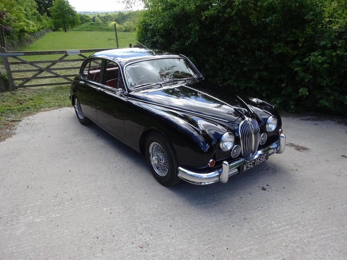 1967 Jaguar MK2 3.8 - Fully rebuilt For Sale (picture 2 of 6)