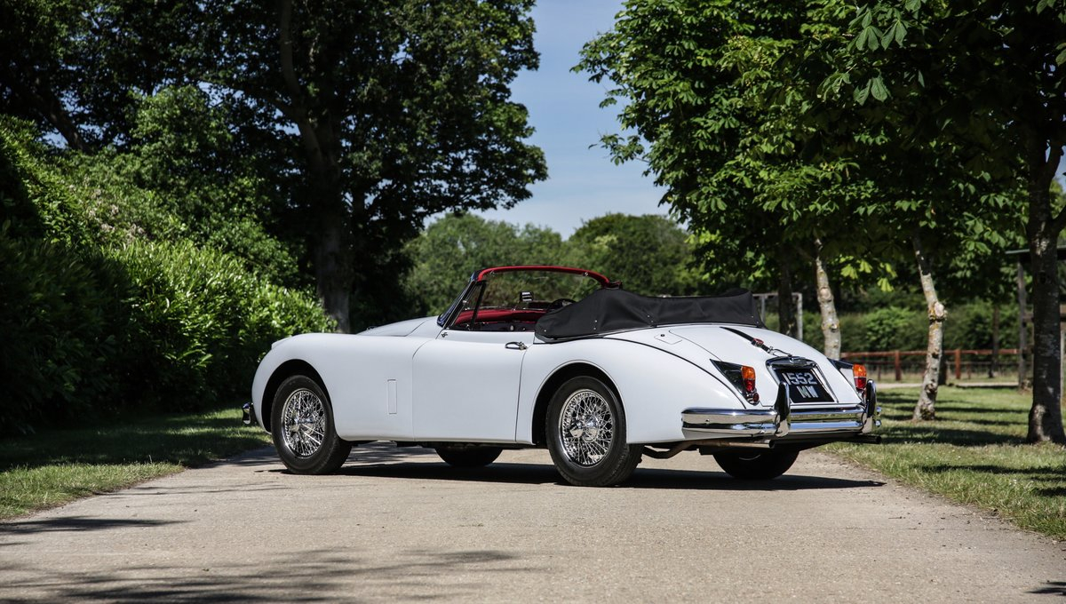 1959 Jaguar XK150 3.4 S Drophead Coupe For Sale (picture 2 of 17)