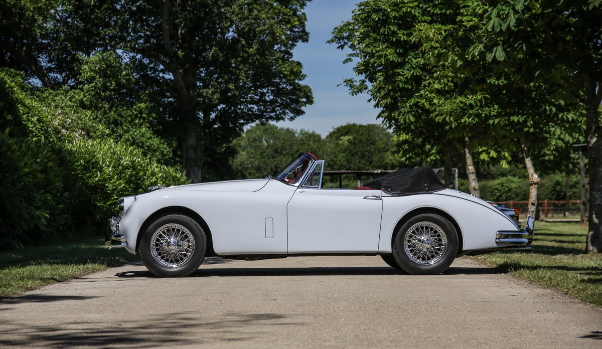 1959 Jaguar XK150 3.4 S Drophead Coupe For Sale (picture 5 of 17)