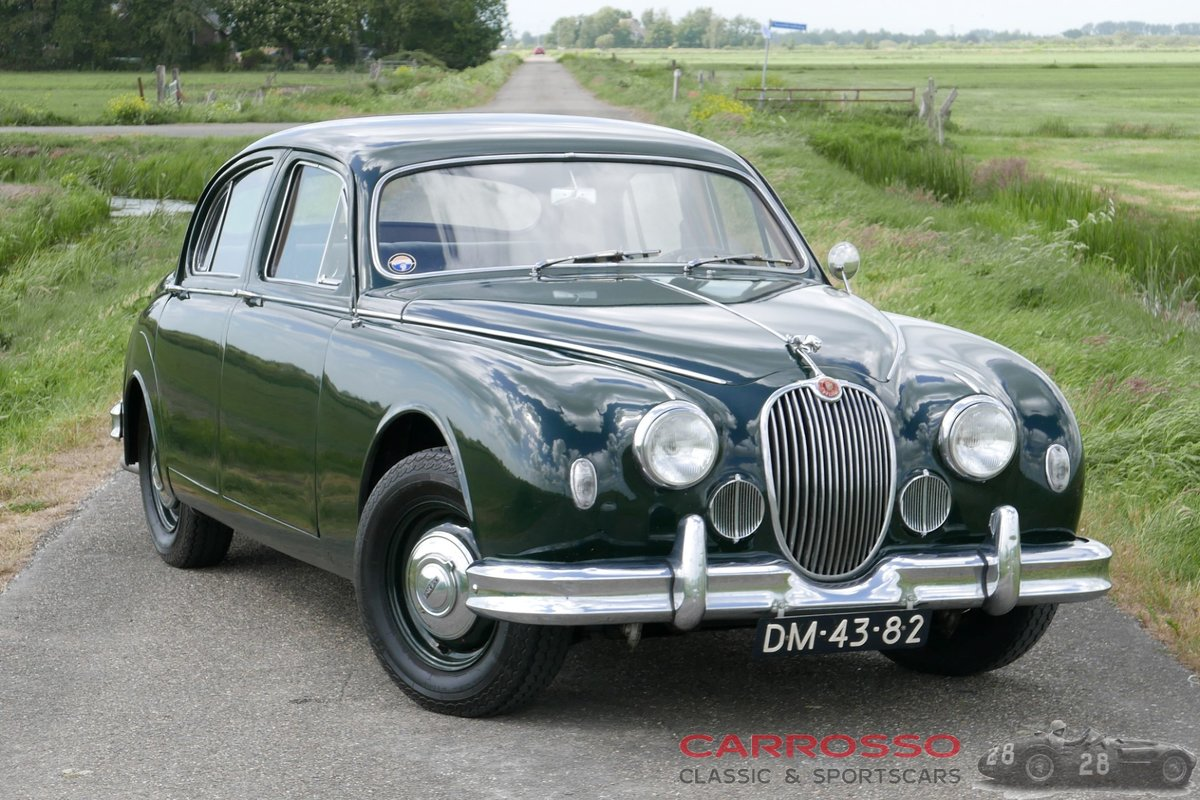 1957 Jaguar MKI 3.4 with Overdrive! For Sale (picture 1 of 6)