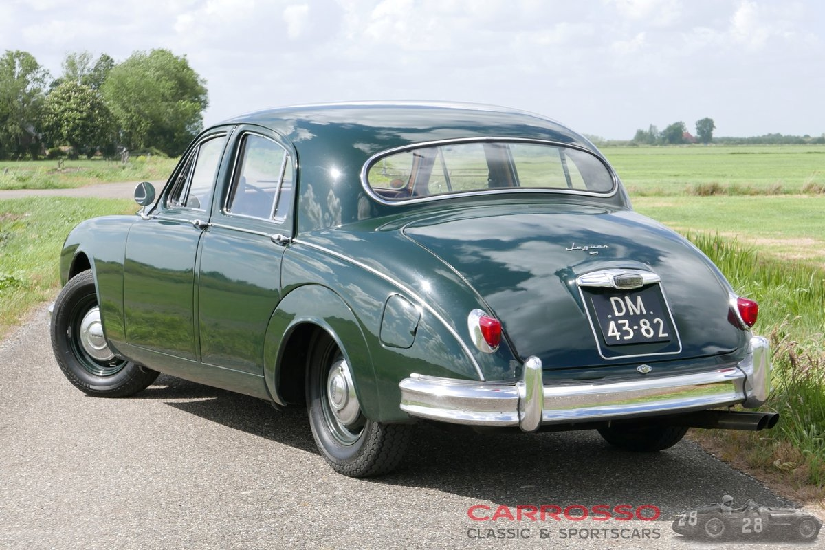 1957 Jaguar MKI 3.4 with Overdrive! For Sale (picture 2 of 6)