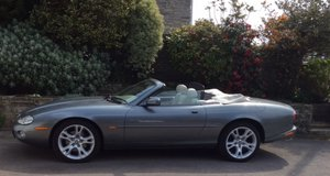 Jaguar 4.2 XK8 Convertible.