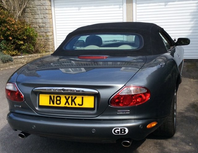 2003 Jaguar 4.2 XK8 Convertible. For Sale (picture 3 of 4)
