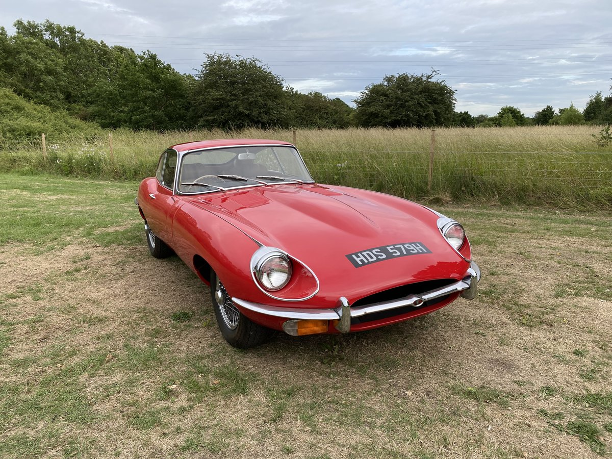 1969 Jaguar E Type Series 2 FHC For Sale (picture 2 of 6)