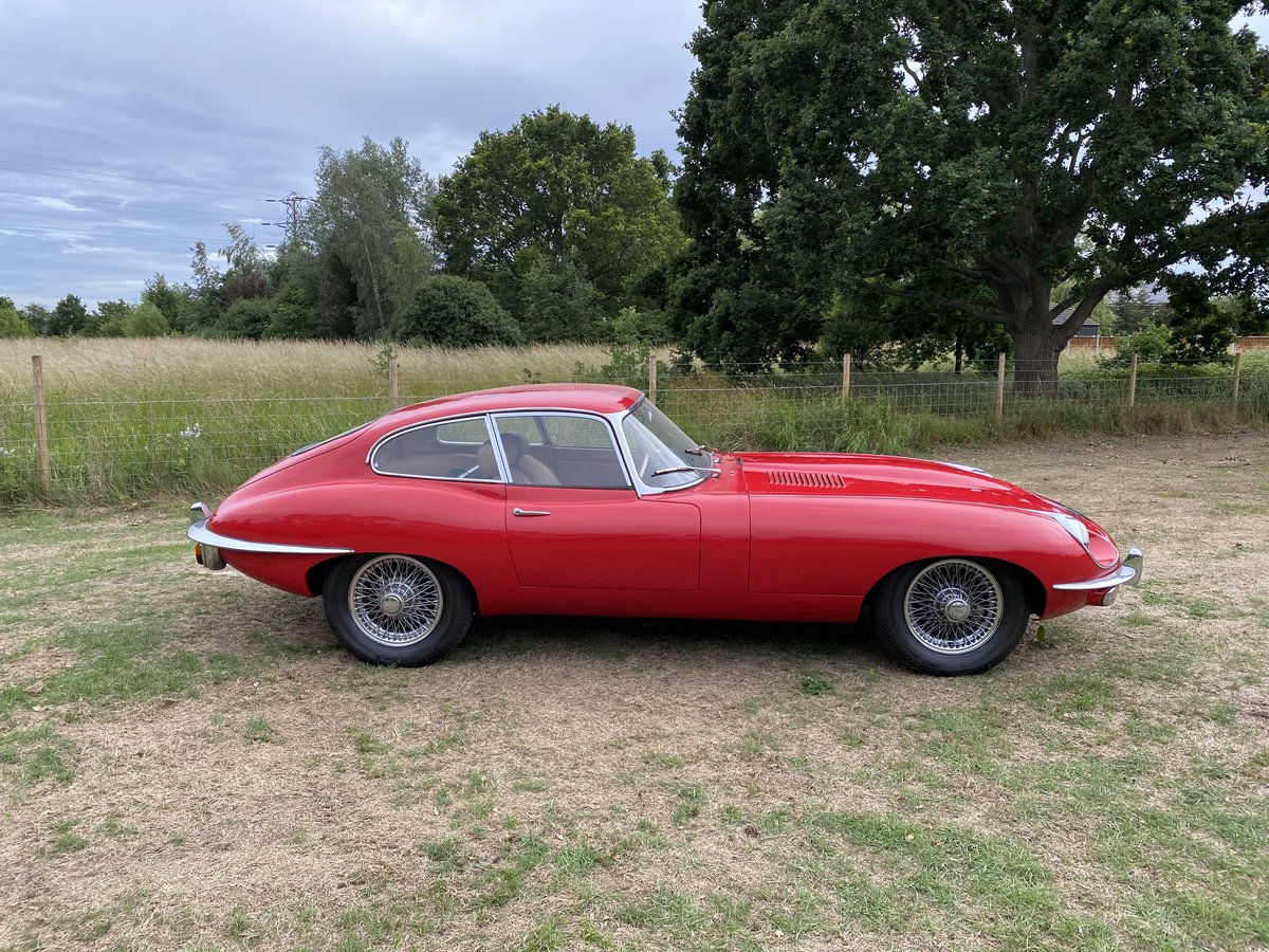 1969 Jaguar E Type Series 2 FHC For Sale (picture 5 of 6)