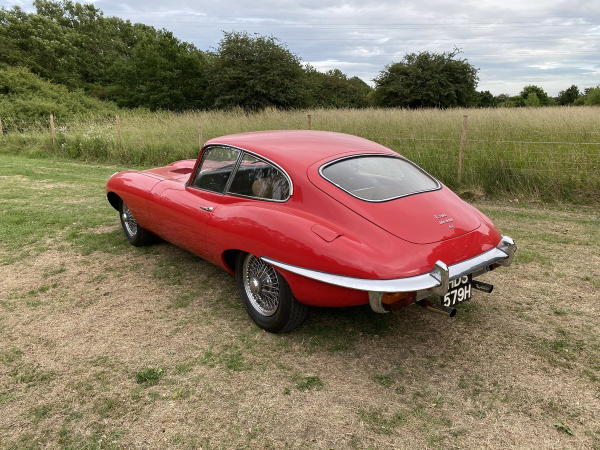 1969 Jaguar E Type Series 2 FHC For Sale (picture 6 of 6)