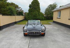 1974 Jaguar E Type Commemorative.