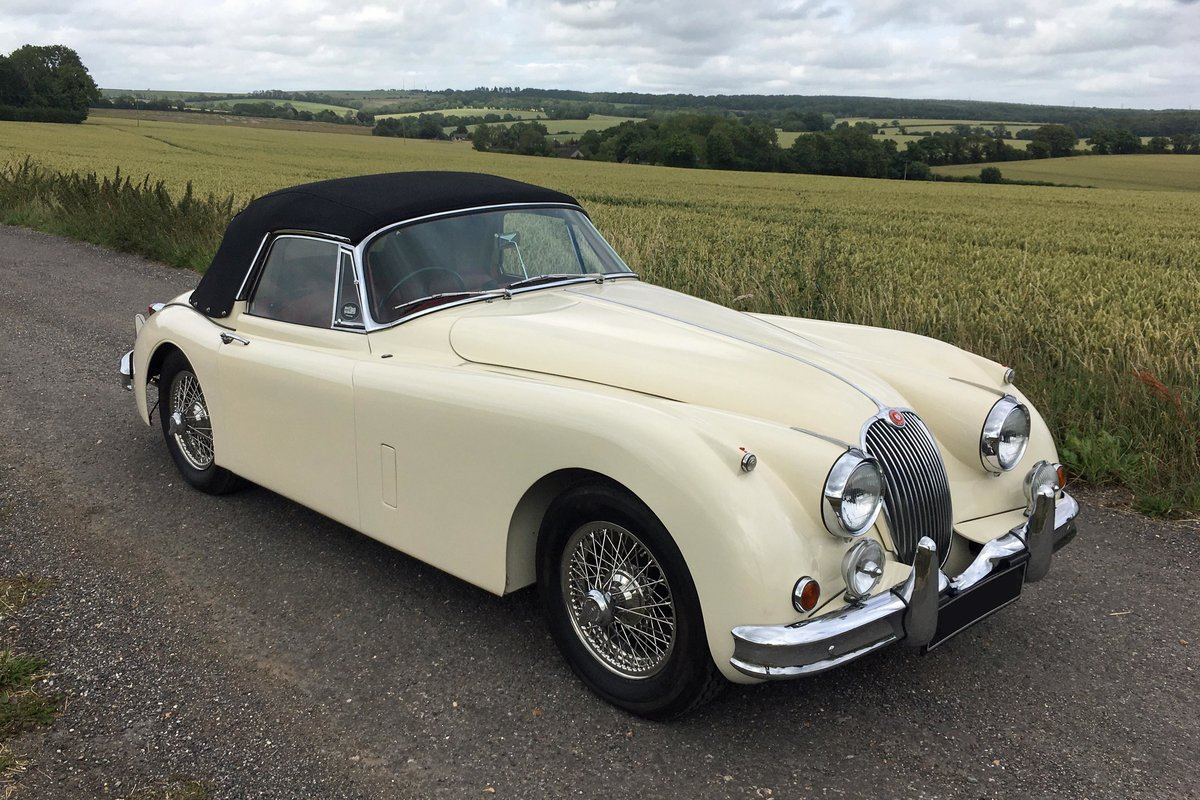 Jaguar XK150 1958 - featured in the film  For Sale (picture 2 of 6)