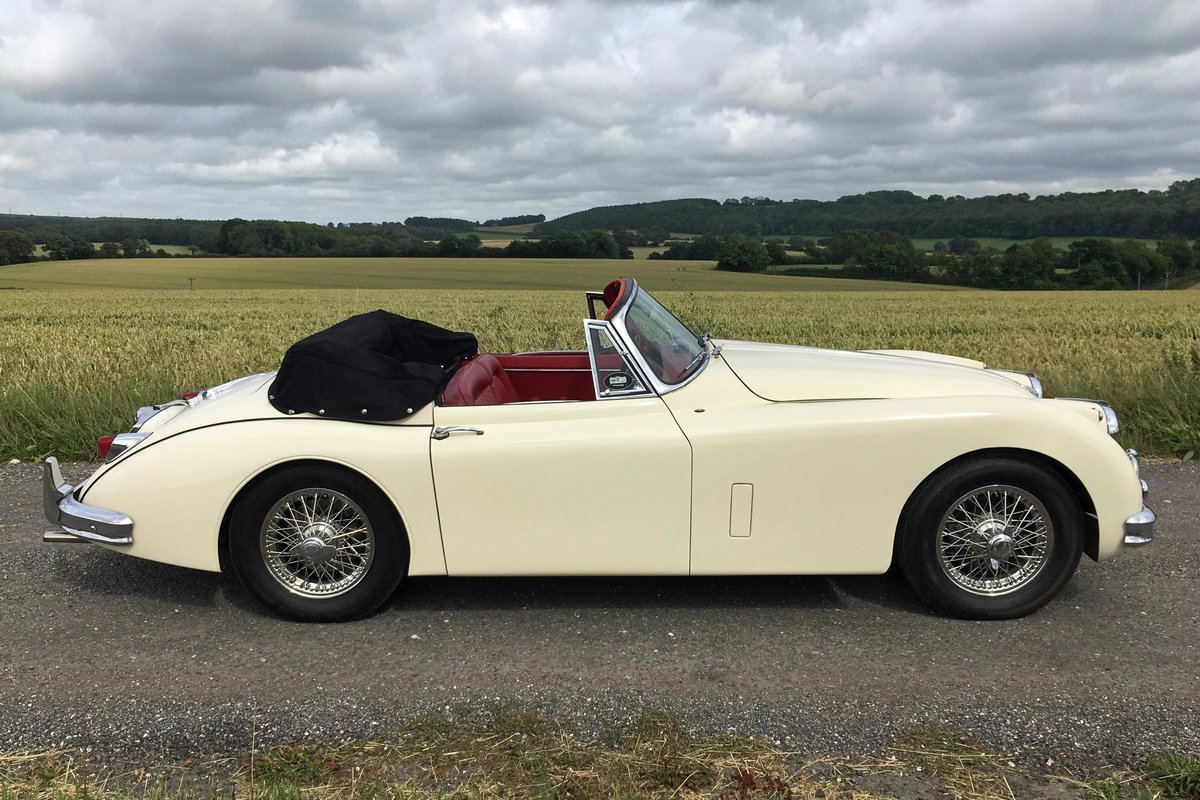 Jaguar XK150 1958 - featured in the film  For Sale (picture 4 of 6)