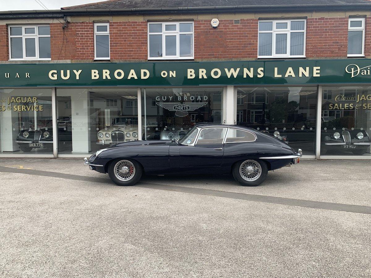 1968 Jaguar E type FHC For Sale (picture 4 of 6)