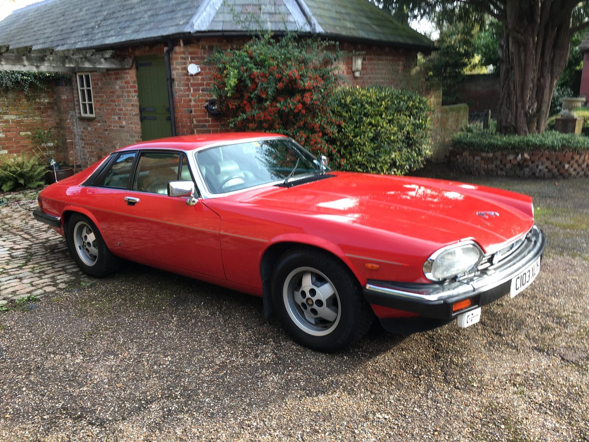 1985 XJS HE V12 Coupe, very tidy, drives well For Sale (picture 1 of 6)