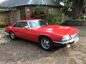 1985 XJS HE V12 Coupe, very tidy, drives well