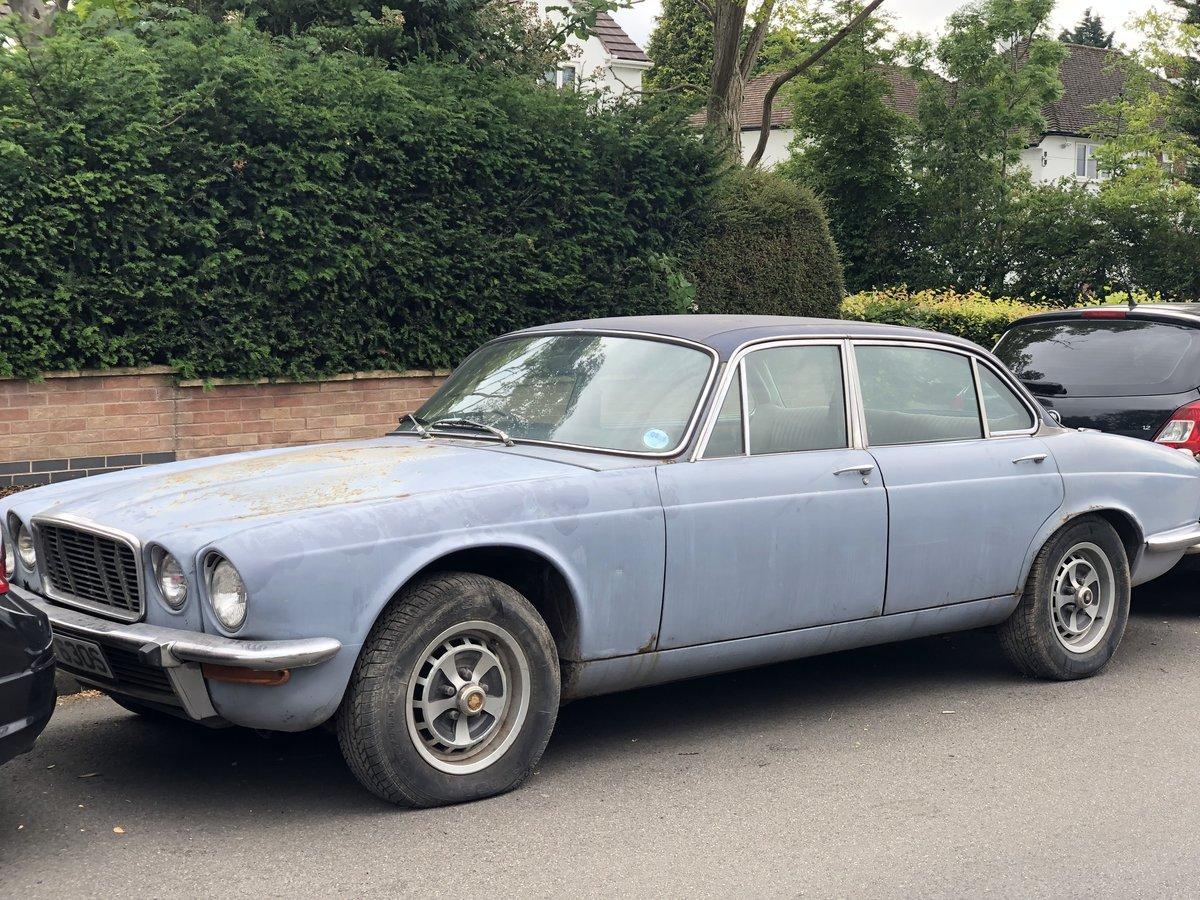 1978 Jaguar XJ6 barn find For Sale (picture 1 of 6)