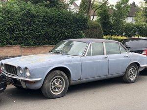 1978 Jaguar XJ6 barn find