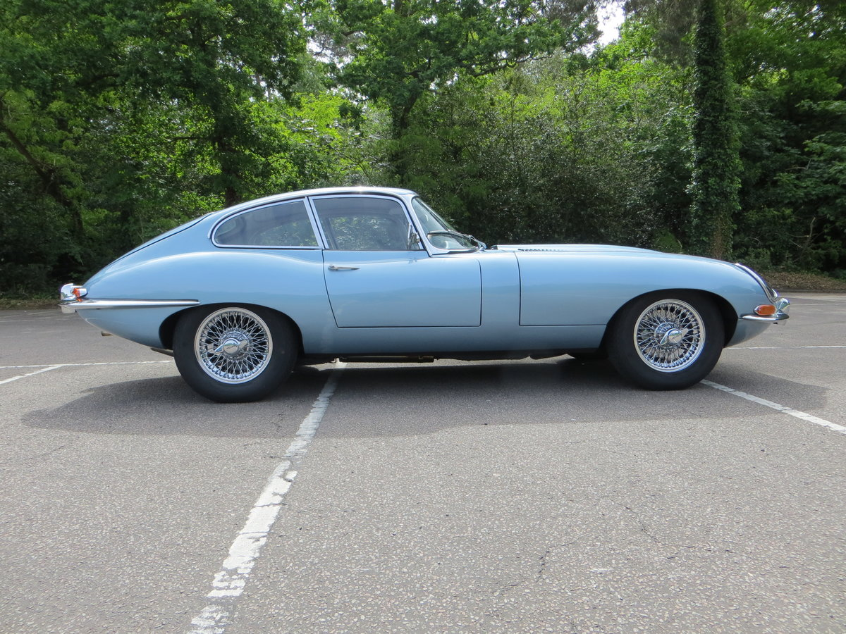 1966 Jaguar E-Type Series 1 4.2 Fixed Head Coupe  SOLD (picture 2 of 6)
