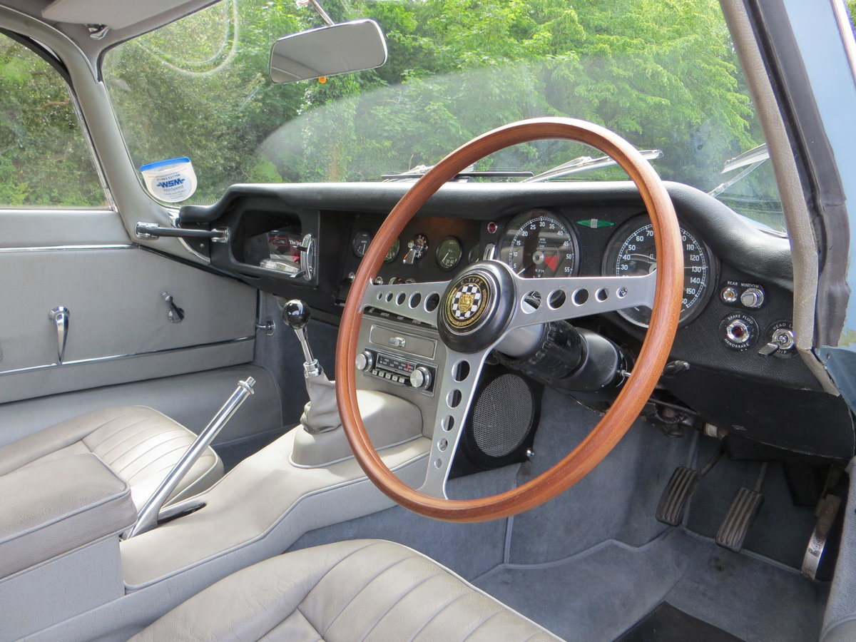 1966 Jaguar E-Type Series 1 4.2 Fixed Head Coupe  SOLD (picture 3 of 6)