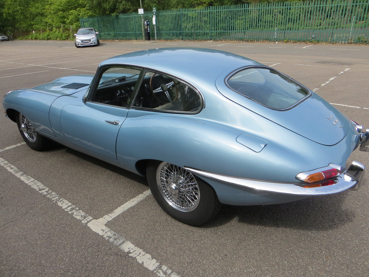 1966 Jaguar E-Type Series 1 4.2 Fixed Head Coupe  SOLD (picture 4 of 6)