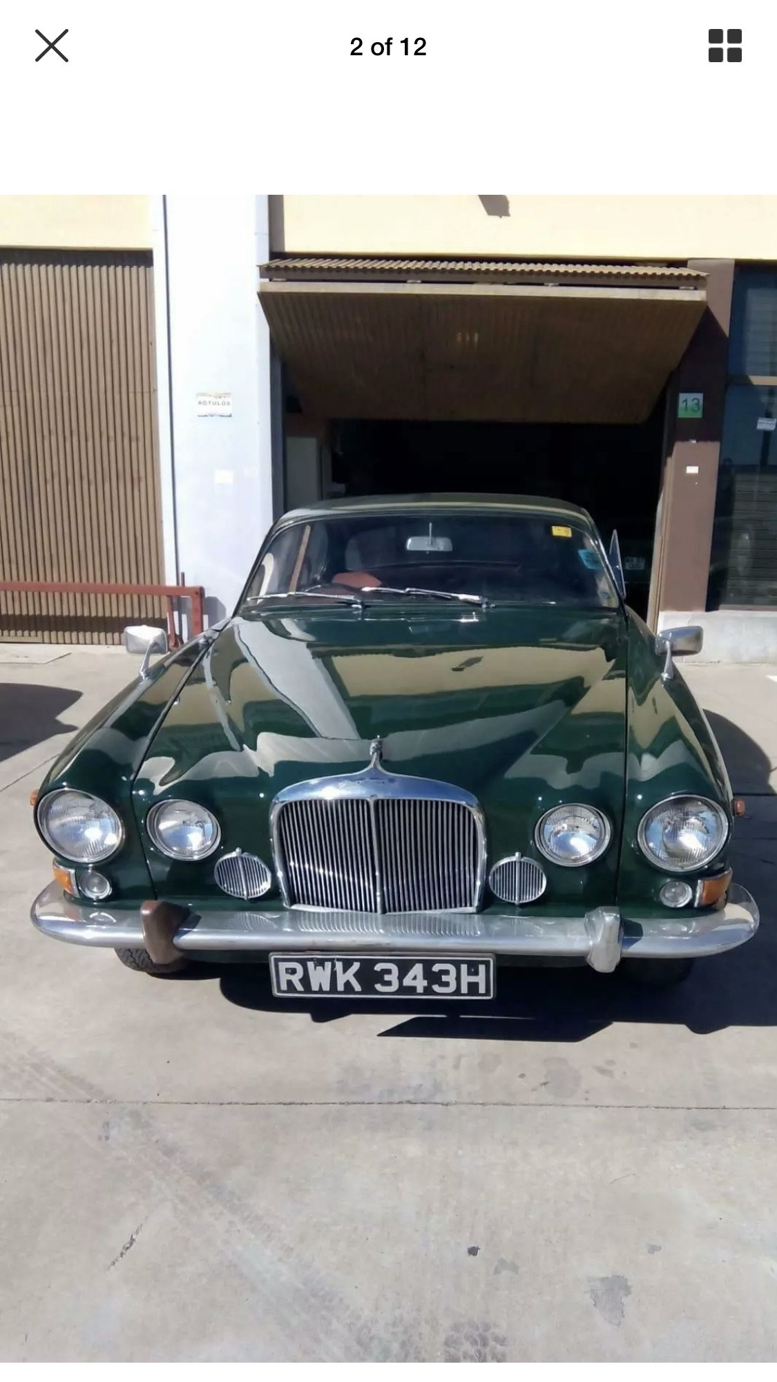 1970 Jaguar 420G mk 10 sell swap px why ? SOLD | Car And ...