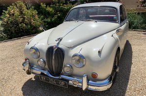 1961 JAGUAR MARK 2 3.8 MANUAL OVERDRIVE For Sale by Auction