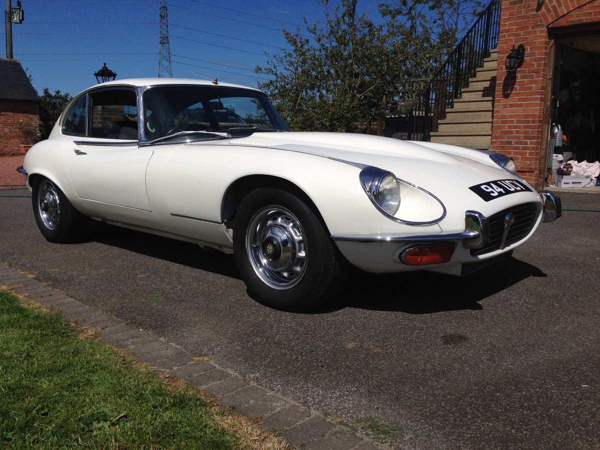 1971 Jaguar E Type Series 3 5.3 V12 For Sale (picture 1 of 6)