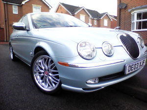 2003 Jaguar S-Type 6 speed special show car