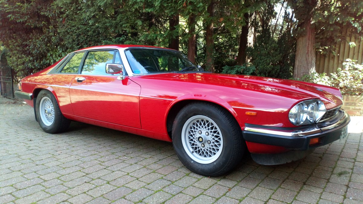 1989 Low mileage, 2-owner XJS - very original SOLD (picture 1 of 6)