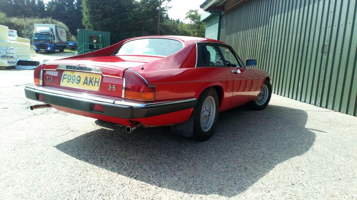 1989 Low mileage, 2-owner XJS - very original SOLD (picture 3 of 6)