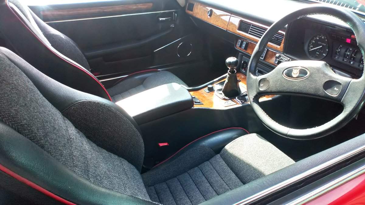 1989 Low mileage, 2-owner XJS - very original SOLD (picture 5 of 6)