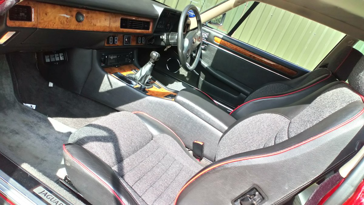 1989 Low mileage, 2-owner XJS - very original SOLD (picture 6 of 6)