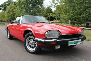 1991 1992 jaguar XJS 5.3 V12 Convertible For Sale
