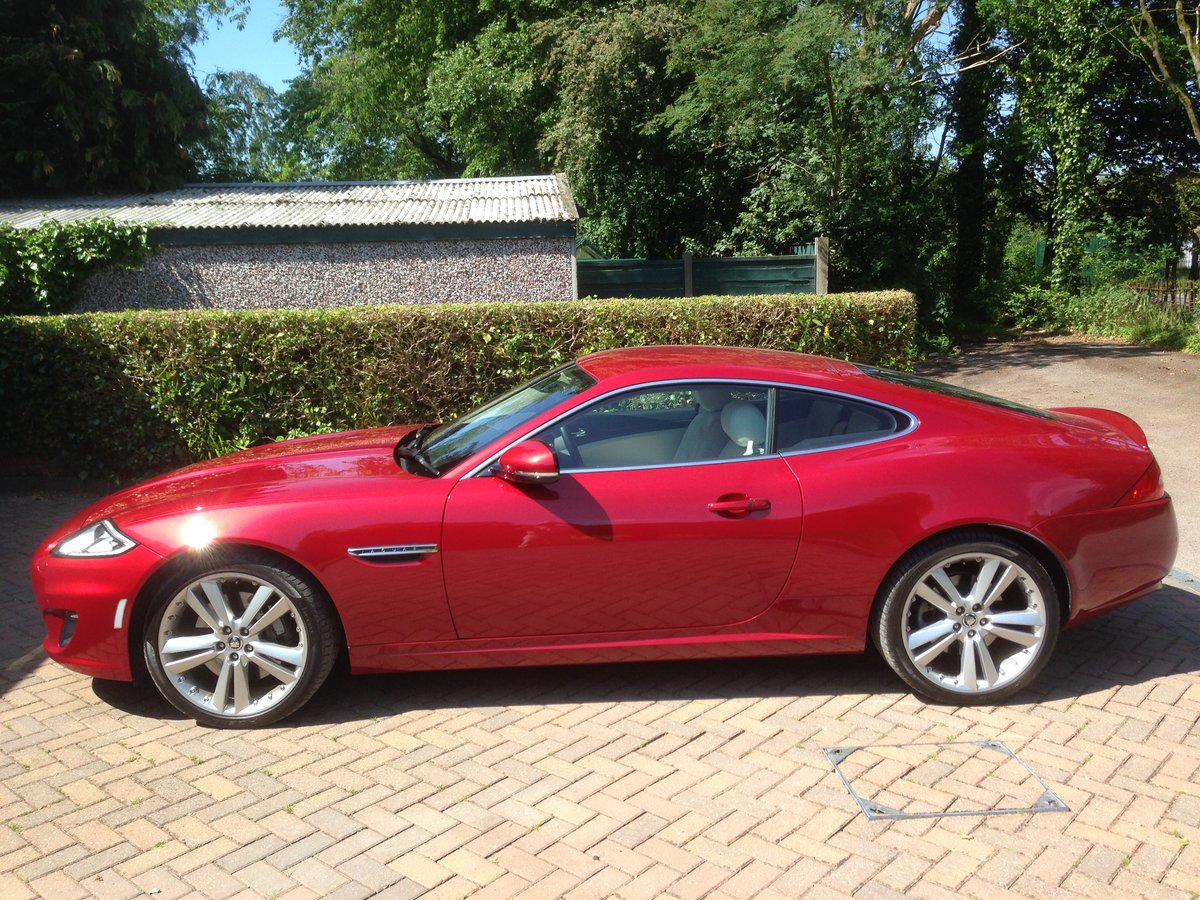 Jaguar XK 5 litre FHC Portfolio Model (2012) For Sale (picture 2 of 5)